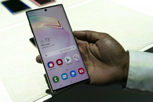 Samsung dévoile son Galaxy Note 10, le plus grand smartphone du marché