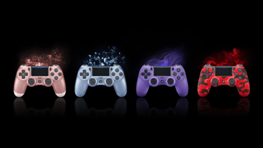 PlayStation présente quatre nouveaux coloris pour sa DualShock