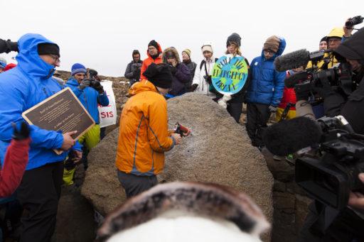 Comme un symbole, l'Islande dit adieu au glacier Okjökull, disparu à cause du réchauffement climatique