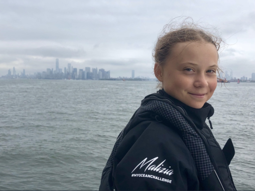 Après 14 jours en mer, Greta Thunberg a débarqué à New York