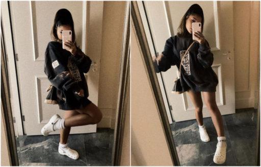 Ariana Grande vient de commettre l'irréparable: relancer la mode des Crocs