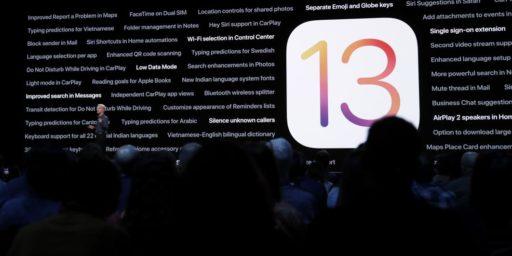 Tadam! L'iOS 13 est officiellement dispo: voici tous les détails