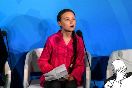 """Greta Thunberg à l'ONU: une nouvelle compilation de """"tweets toxiques"""""""