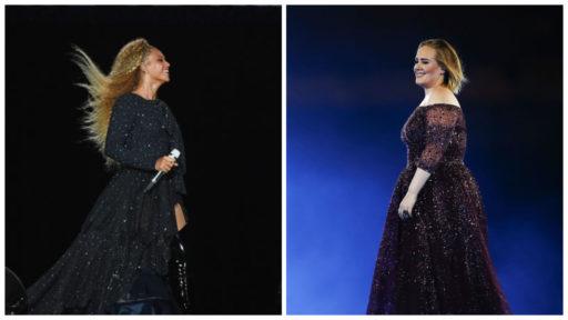 Beyoncé et Adèle ont enregistré une chanson ensemble
