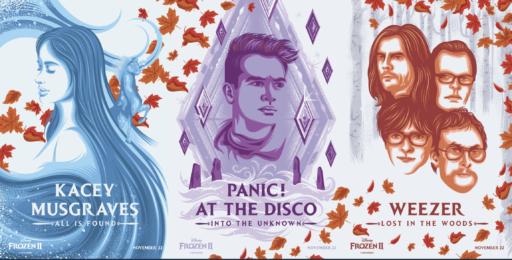 Frozen 2 dévoile sa tracklist de 11 titres avec Panic! at the disco et Weezer en vedette