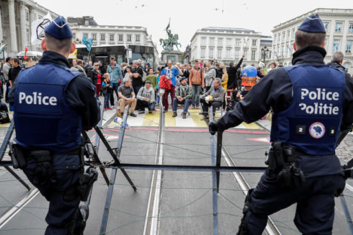 Extinction Rebellion: la non-violence militante a-t-elle atteint sa limite à Bruxelles?