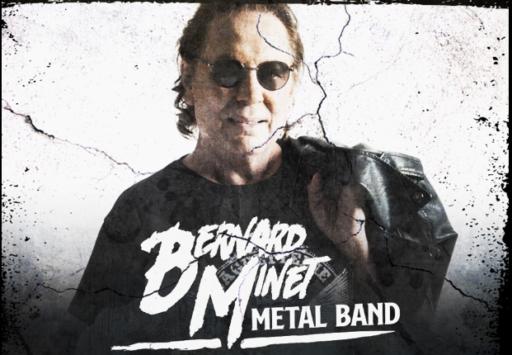 Bernard Minet se met au metal et est à l'affiche du Durbuy Rock 2020