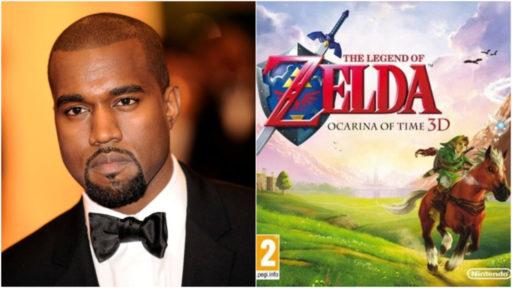 """Kanye s'est-il inspiré de """"The Legend of Zelda"""" pour un nouveau son?"""