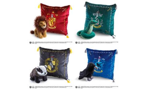 Idée cadeau: des coussins Harry Potter à mettre sous le sapin de Noël