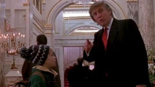 "Au Canada, la scène avec Donald Trump a disparu de ""Maman j'ai raté l'avion 2"""