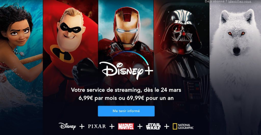 Disney+ : le service de streaming arrive cet été en Belgique