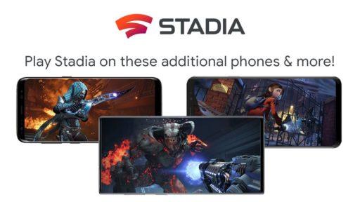 Google Stadia enfin disponible sur Samsung, Razer et Asus