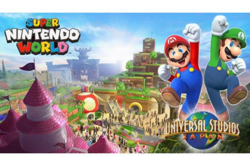 Le parc d'attraction Super Nintendo World d'Osaka se dévoile enfin en vidéo
