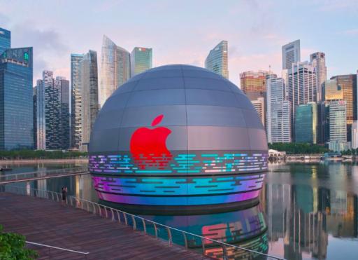 Apple va bel et bien ouvrir un Apple Store flottant et voici à quoi il ressemble