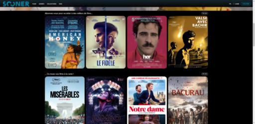 Sooner, la plateforme belge de streaming que les cinéphiles vont adorer
