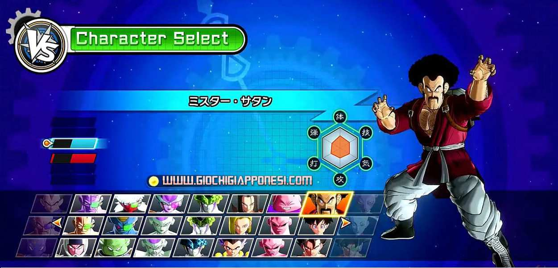Dragon Ball Xenoverse Personaggi - tutti i personaggi