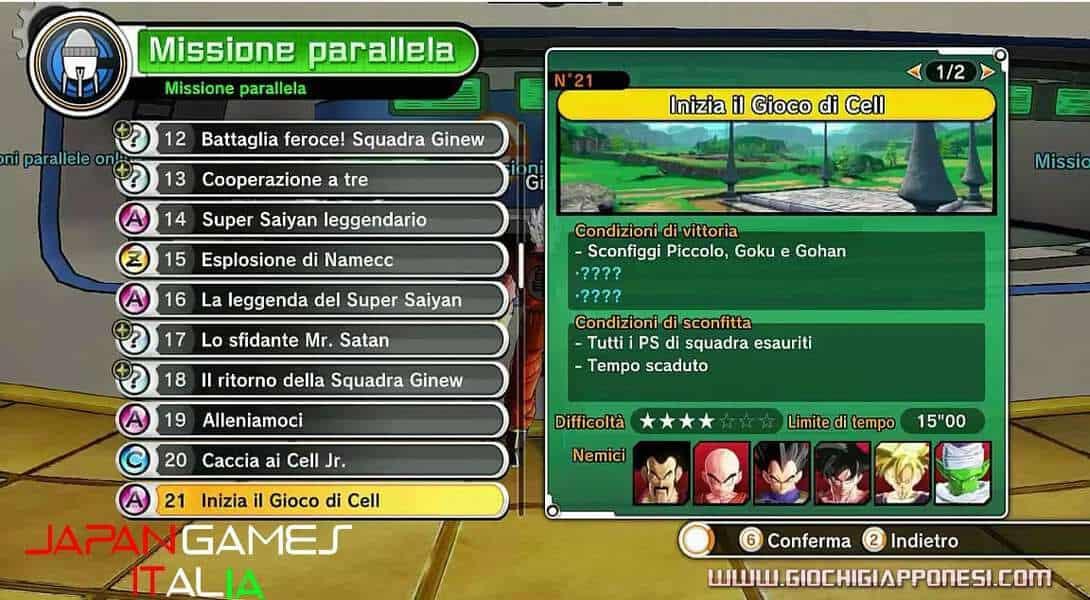 Dragon Ball Xenoverse Guida Missioni secondarie