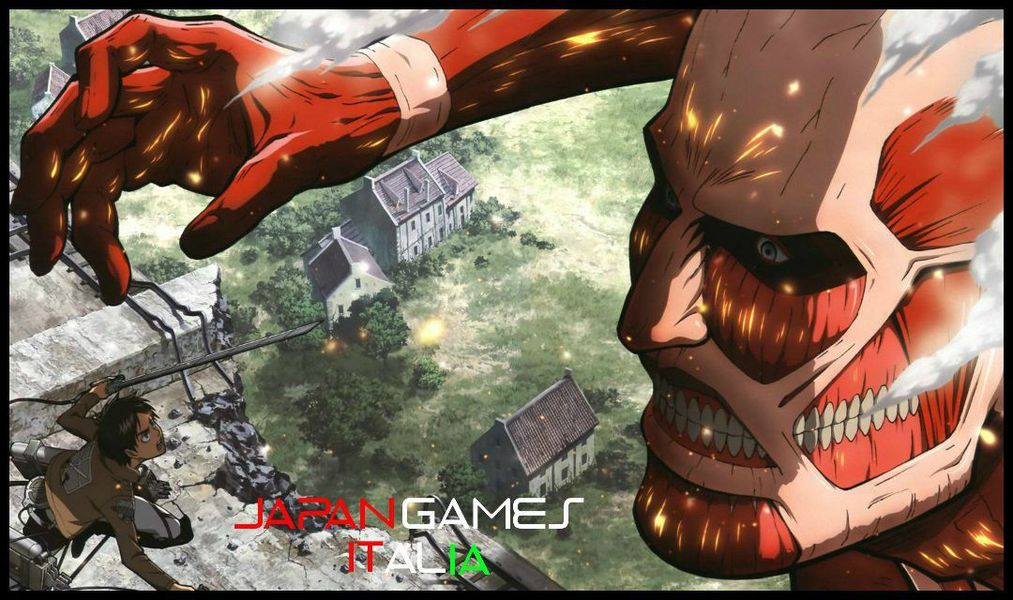 il gioco Attack on Titan uscirà presto in Europa