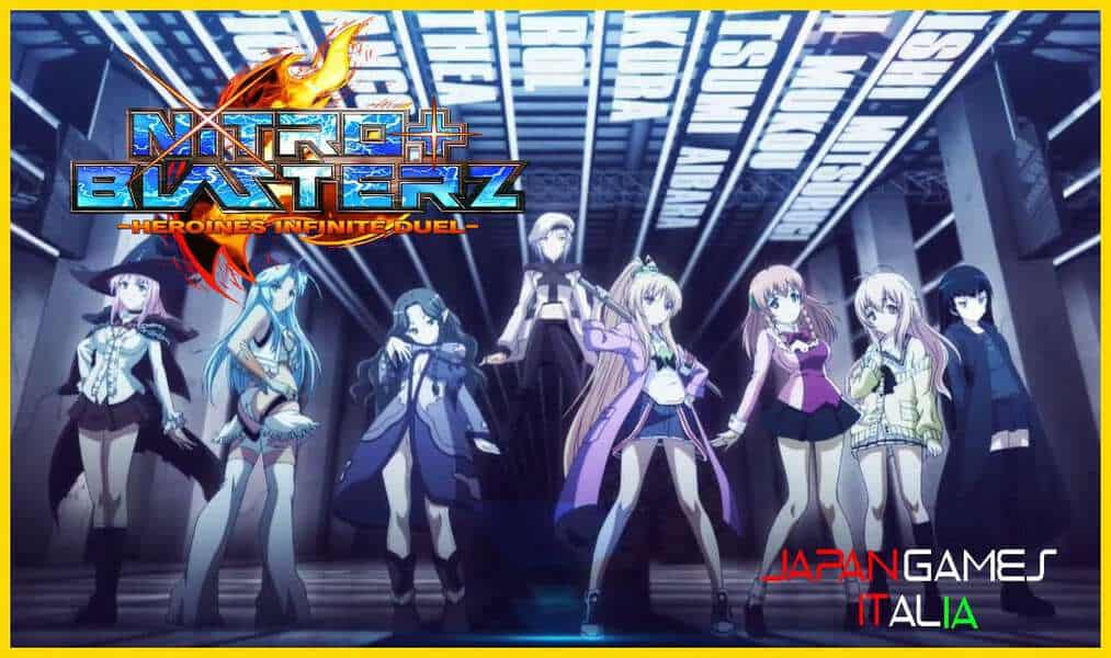 Lancio di Nitroplus Blasterz Heroines Infinite Duel