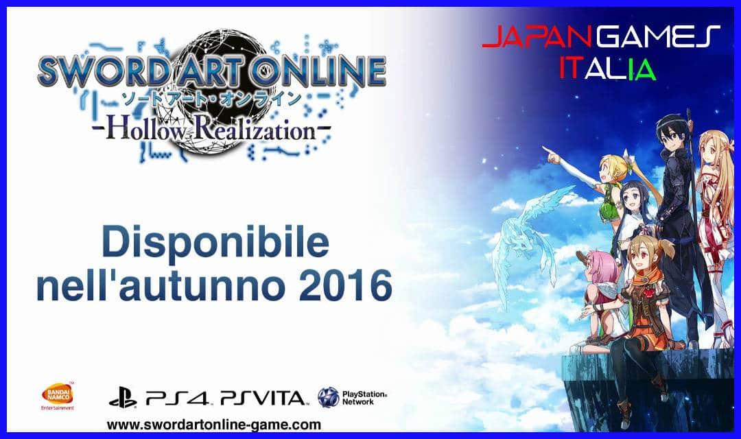 Trailer Italiano di Sword Art Online Hollow Realization