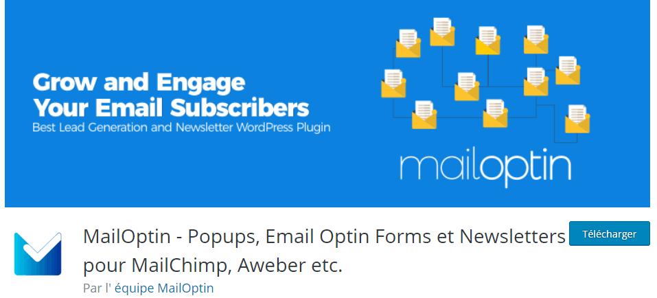 Abonnement emails