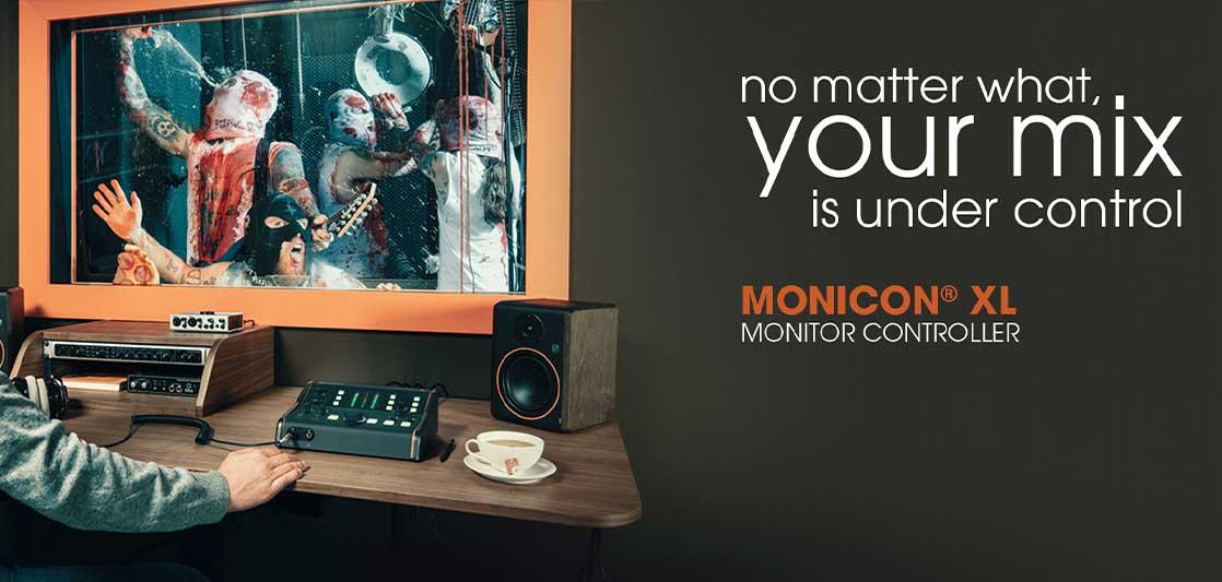 controlador de monitores de estudio MONICON