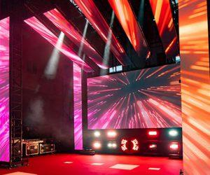 proveedor audiovisual de equipos para eventos y espectáculos