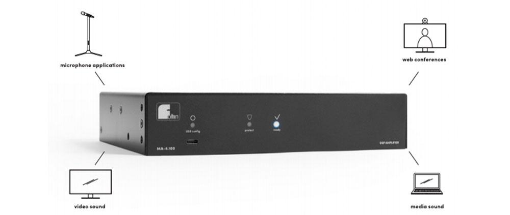 Amplificador DSP compacto