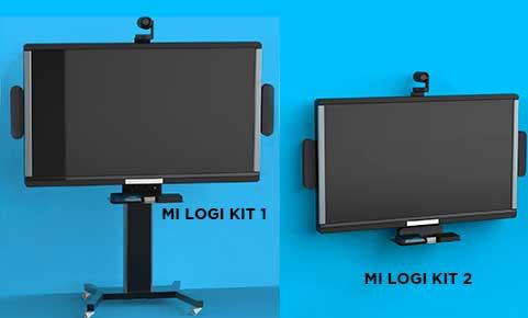 kits de montaje para sistemas de videoconferencia