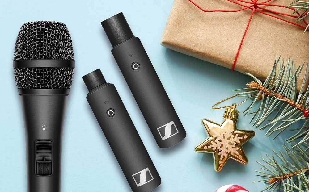 Micrófonos de sonido y auriculares Sennheiser