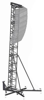 torre para Line Array de GUIL