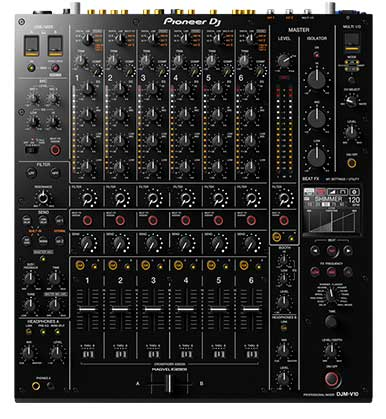 Mesa de mezclas de club de 6 canales DJM-V10