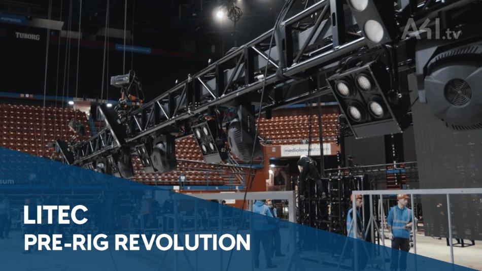 Estructura de truss pre-rig Revolution PR60, nuevo video en A4i.tv