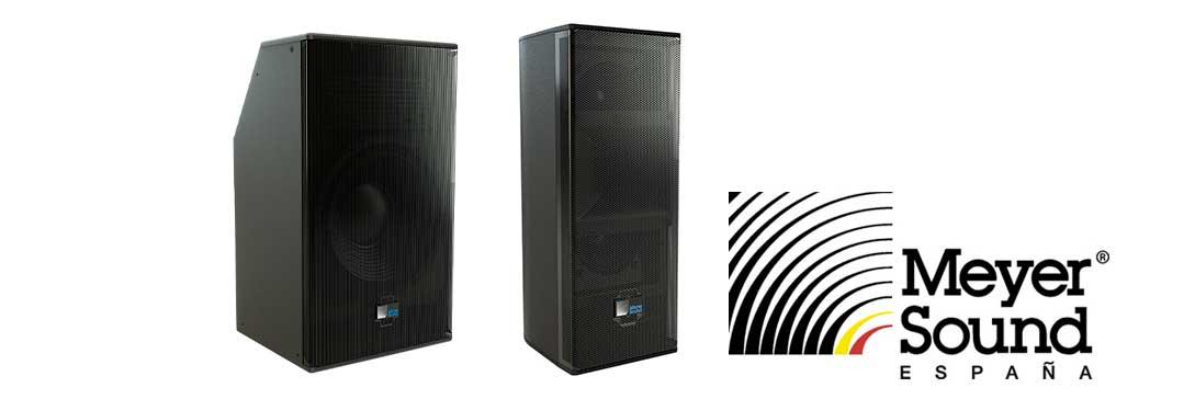 altavoces compactos autoamplificados de Meyer Sound