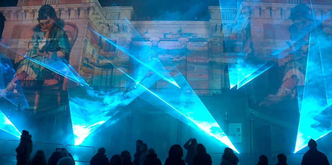 Equipos láser de iluminación profesional