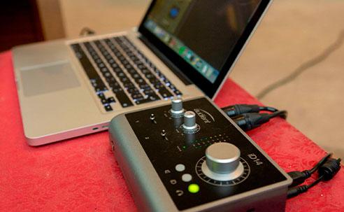 Interface de audio Audient iD14