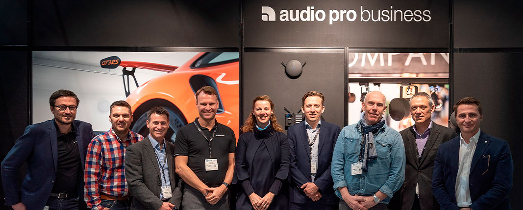 distribución con Audio Pro Business