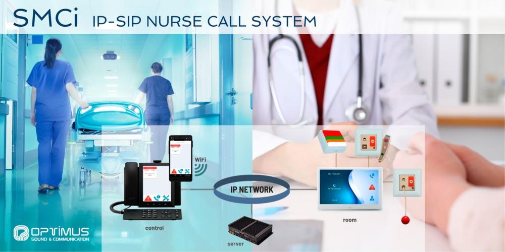 Sistema paciente enfermera IP-SIP SMCi
