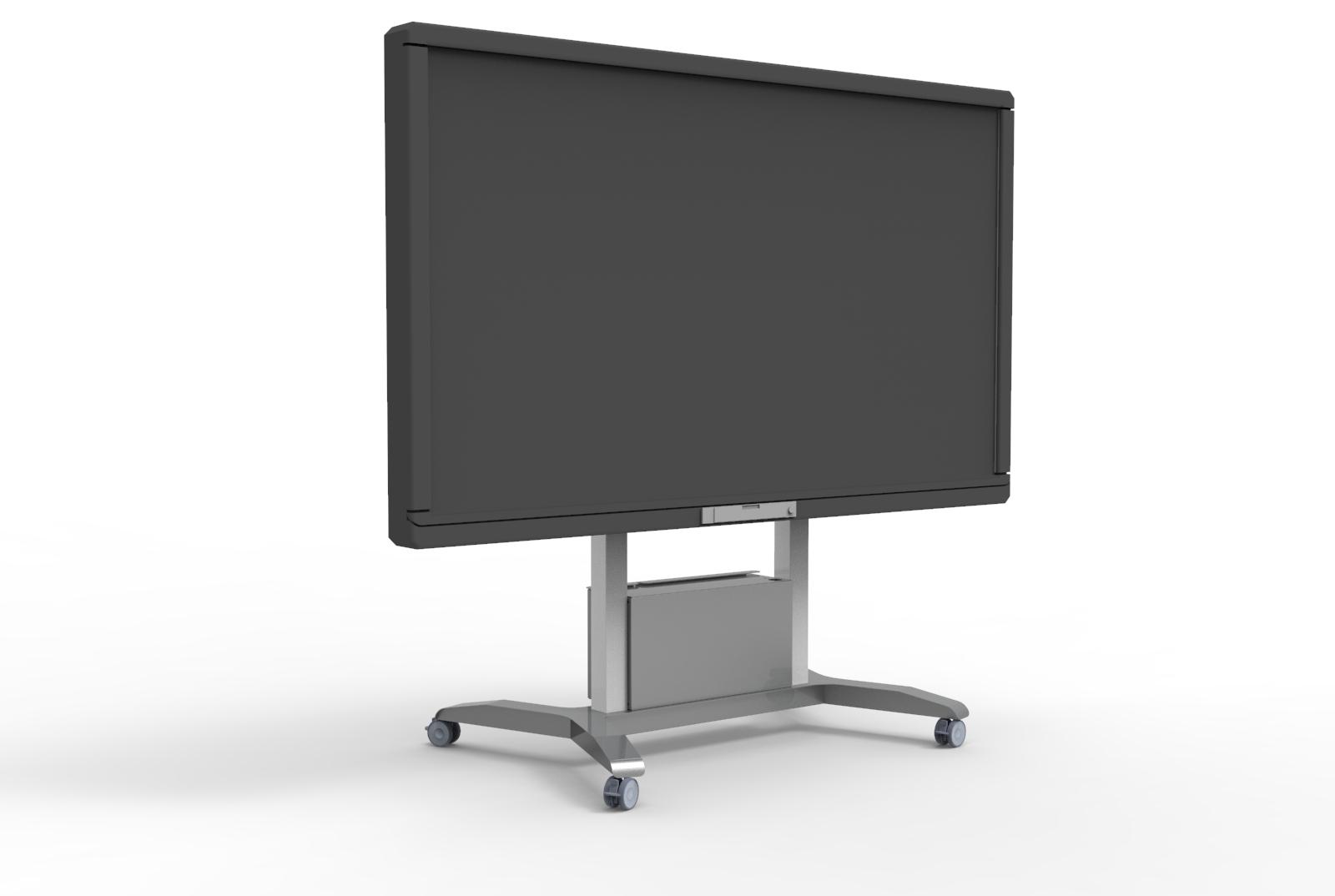 Soportes motorizados para displays interactivos