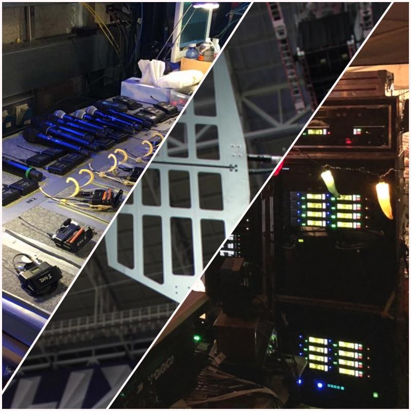 gestión de sistemas inalámbricos en sonido directo