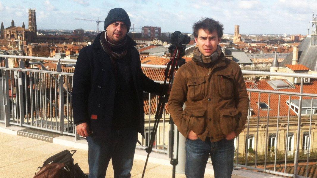 Antonin Alloggio et Joël Matrins Da Silva - Point Barre