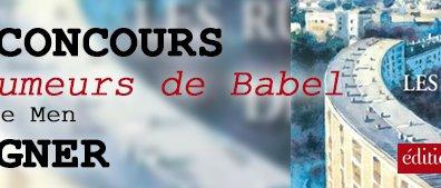 Jeu concours Les rumeurs de Babel Yvon Le Men