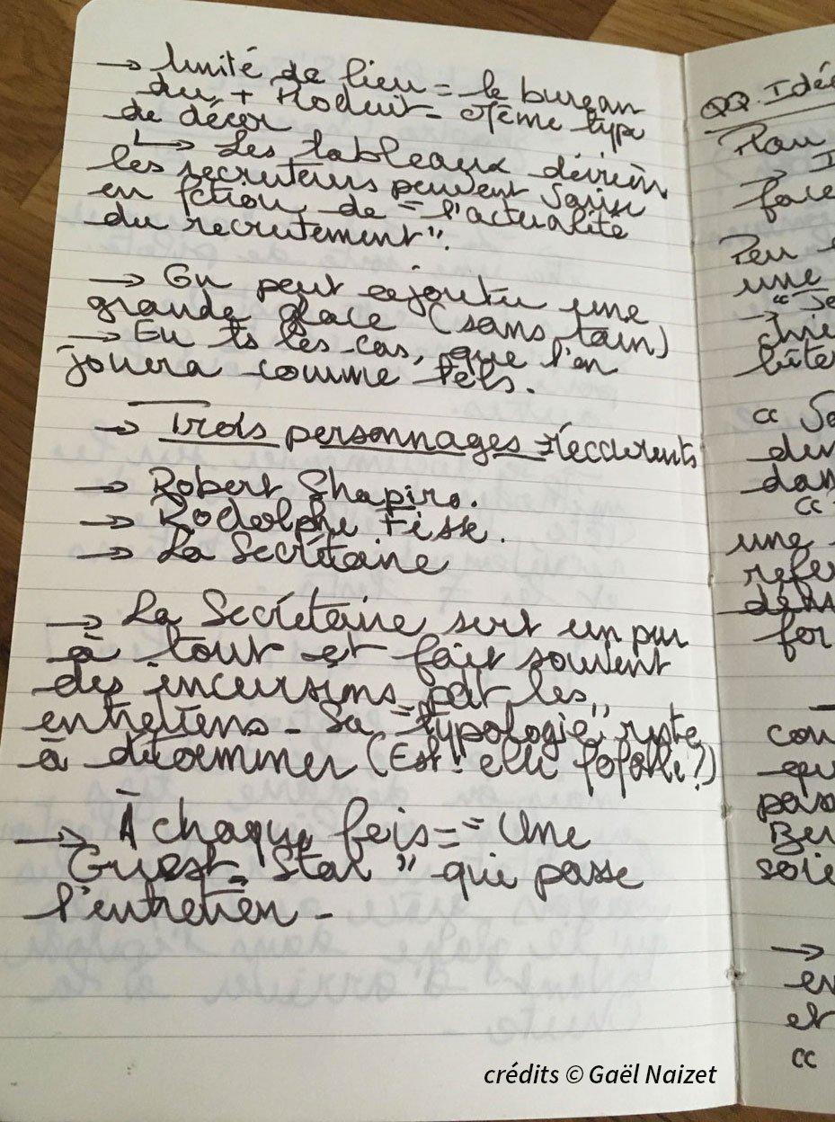 Carnets de note 2 gael naizet