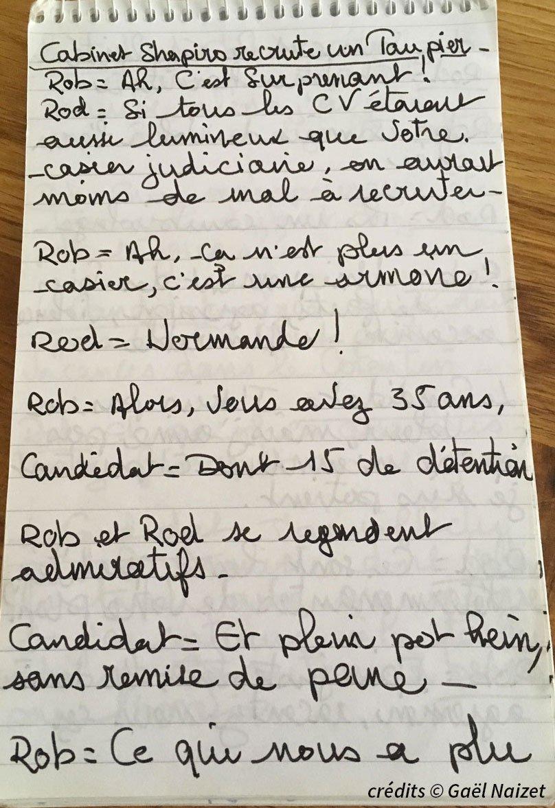Carnets de note 6 credits gael naizet