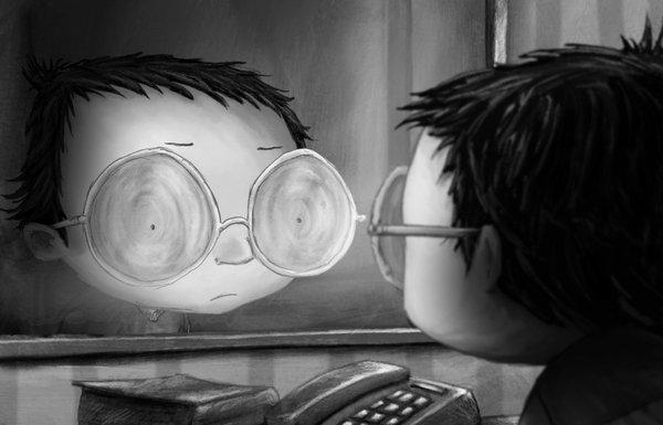 Arnaud et ses nouvelles lunettes - Cul de Bouteille