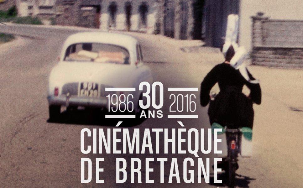 Cinémathèque de Bretagne affiche 30 ans