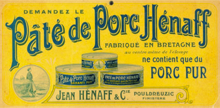 Demandez le pâté Hénaff
