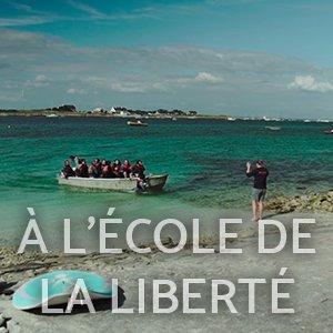 LES GLÉNANS À L'ÉCOLE DE LA LIBERTÉ