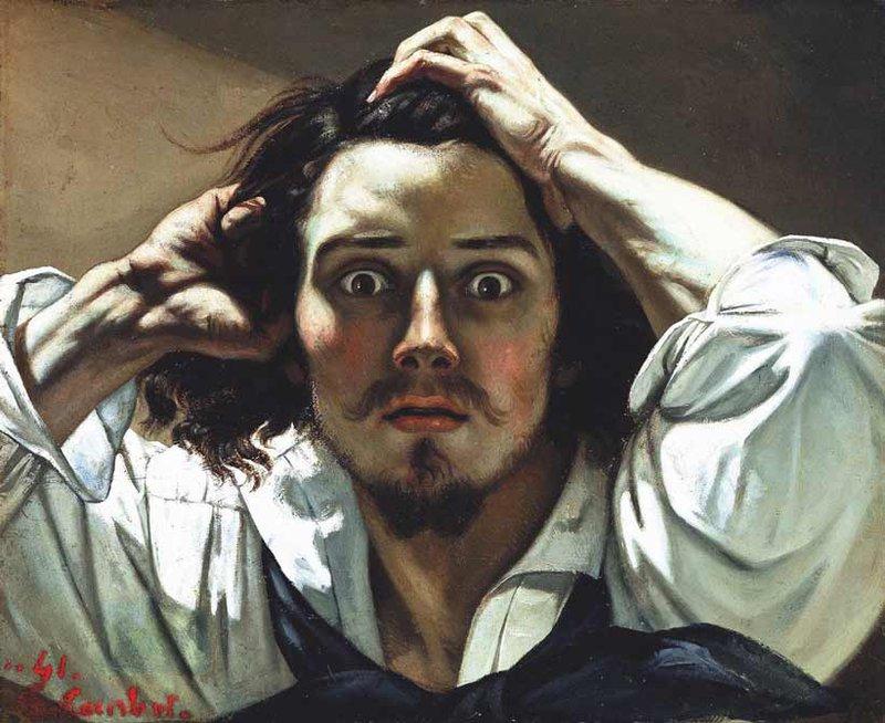 Gustave Courbet Le Déséspéré KuB