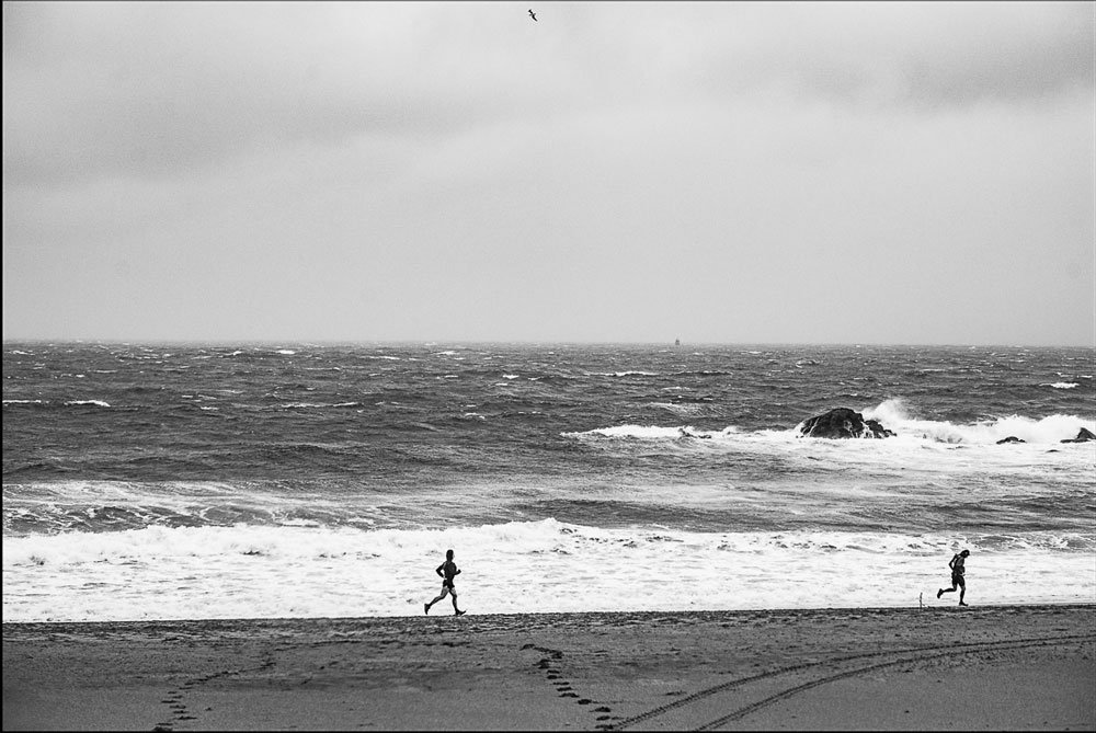 PLAGE : Jogging Philippe Erard